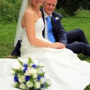 Portrætfoto bryllup