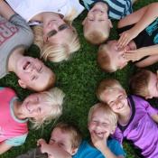 Børn fra Haubro-Søttrup Friskole
