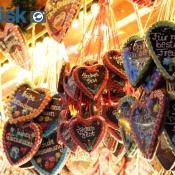 Hjerter på stribe fra Rostocks julemarked
